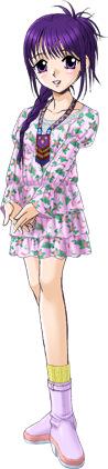 春菜のレイヤードフリルの花柄ワンピース