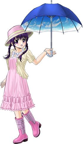 春菜の梅雨時ファッション
