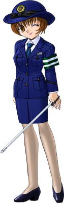 2007-04絢夏の婦警制服