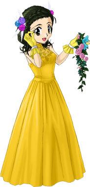 観秋のウェディングドレス2