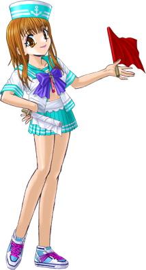 絢夏の水着(2009モデル)