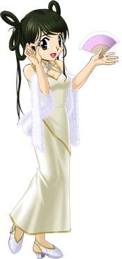 観秋のホワイトデーズドレス