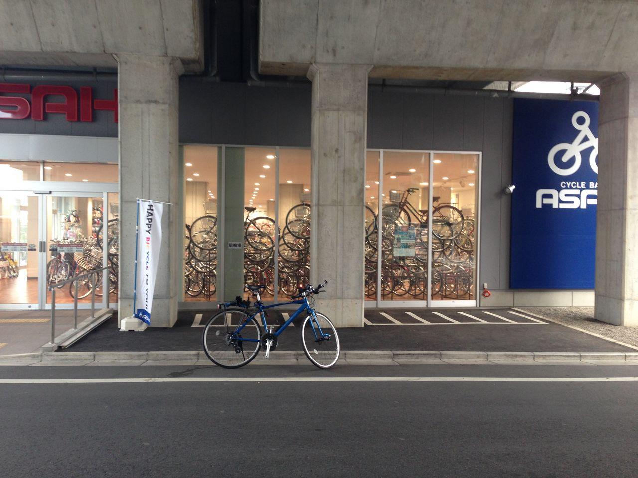 ... 月 : アルミのロバ 自転車記録