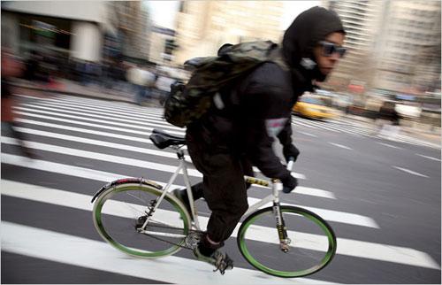 : 問題のブレーキ無し自転車 ...