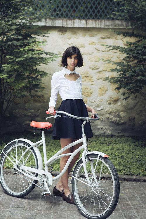 自転車の 自転車 街乗り ファッション 女子 : PEDAL Journal (ペダル・ジャーナル ...