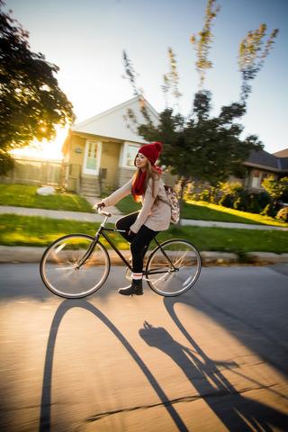 ... 自転車に乗りたいのがおしゃれ