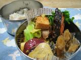 キャベツと厚揚げのカレー味チャンプルー弁当