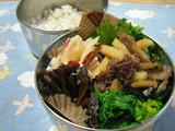 牛肉とじゃが芋炒め弁当