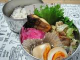 豚肉とキャベツの中華炒め弁当