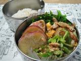 豚バラとキャベツの中華炒め弁当