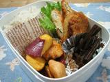 鶏肉とさつま芋炒め弁当