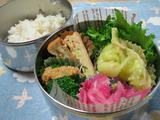 枝豆がんもの含め煮弁当