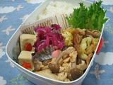豚肉とキャベツ炒め弁当