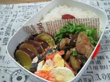 豚肉とナスのポン酢炒め弁当