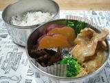 漬けずにできる豚の生姜焼き弁当