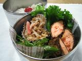 鮭の味噌漬けフライ弁当