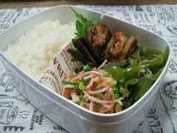 生姜たっぷりレンコンのはさみ焼き弁当