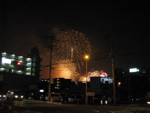 戸田の花火