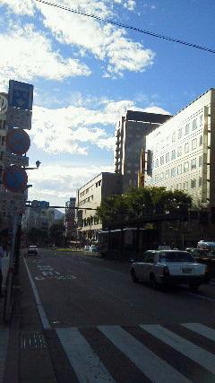 熊本夕景-4 日航前