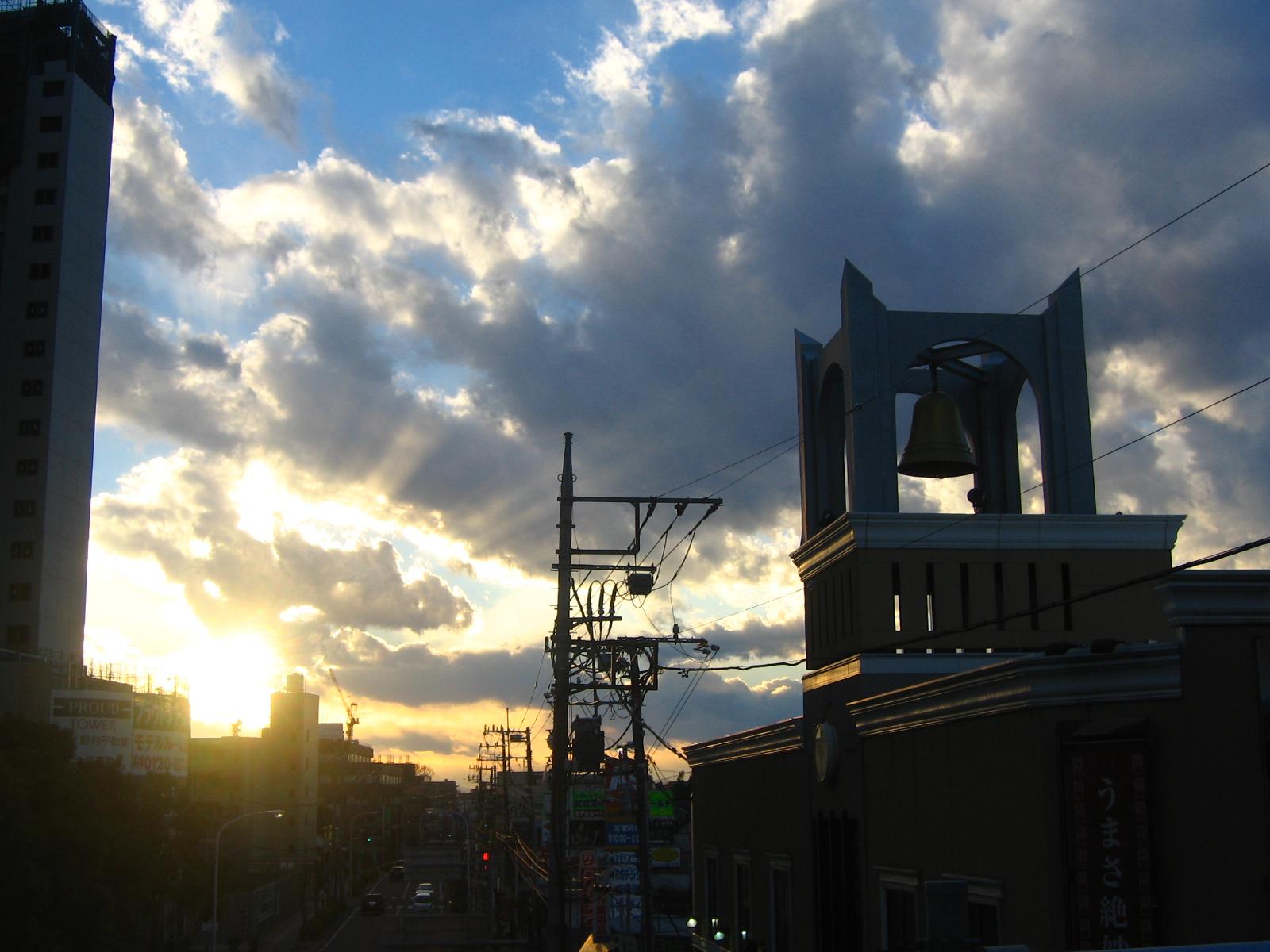 武蔵浦和夕景