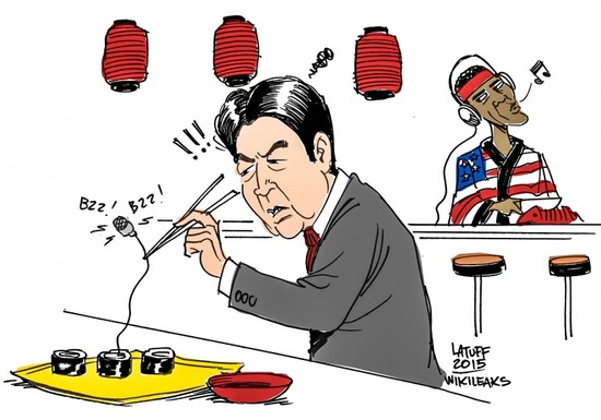WikiLeaks_US_Spying_Japan