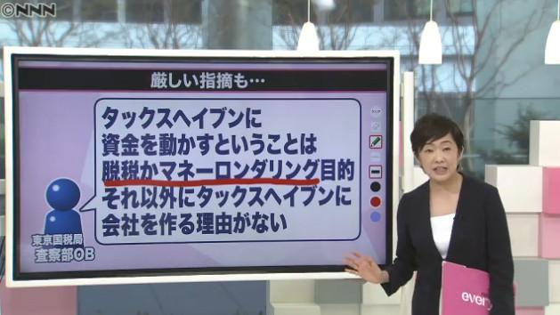 【タックスヘイブン】「パナマ文書」日本関係も多数 広がる波紋 ★6©2ch.net YouTube動画>29本 ->画像>76枚