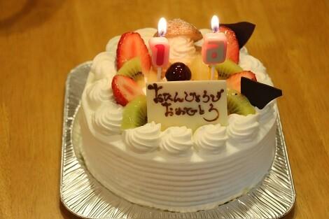 ミミー16歳のケーキ