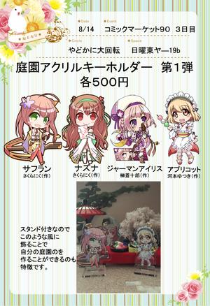 【花騎士雑記】C90委託情報