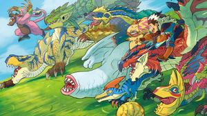 【3DS】『モンスターハンター ストーリーズ』 オープニングムービーが公開