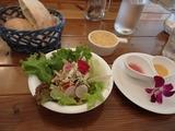 マーメイド サラダとパン