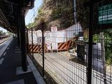 澄江庵 崩壊した洞門