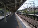 口悦 北鎌倉駅ホーム