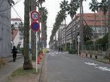めしやっちゃん 店の前の道