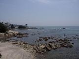 アーセンプレイス 前の海岸