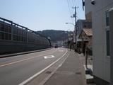 食彩堂 新逗子駅の道