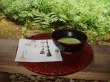 報国寺 抹茶2