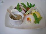 江の島ダイニング 鎌倉野菜のバーニャカウダーソース