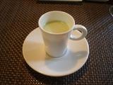 ぷてぃぱ えだまめの冷製スープ