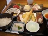 風凛  刺身3種盛と天ぷら