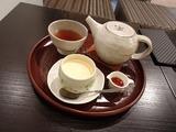 宮路 プリンとお茶