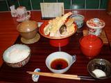 つきやま 天ぷら御膳