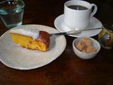 一花屋 キャロットケーキとコーヒー