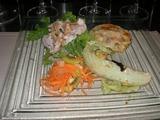 Y字路 4種類の前菜