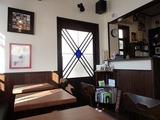 Cafe b(ビー) 室内入口