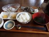 鈴や イサキの塩焼き
