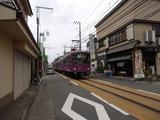 アトリエコータ 電車路を走る江ノ電
