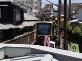 610 2階から江ノ電