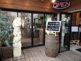 オープンビックカフェ 入口