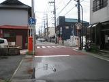 満 店前の道路