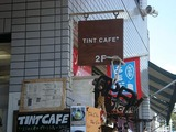 TINT CAFE 看板